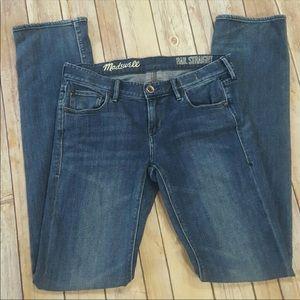 Madewell Rail Straight jeans size 26 x 33